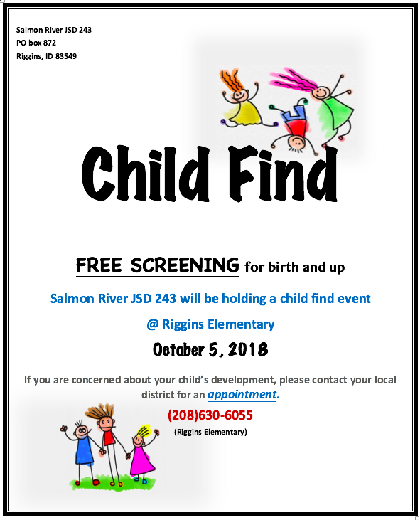Child Find Event